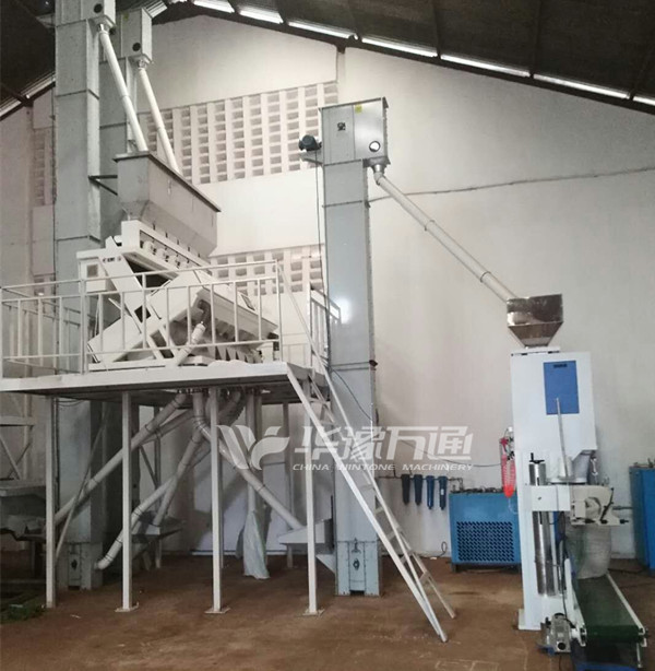 Uganda 5TPH Pulses Cleaning Plant