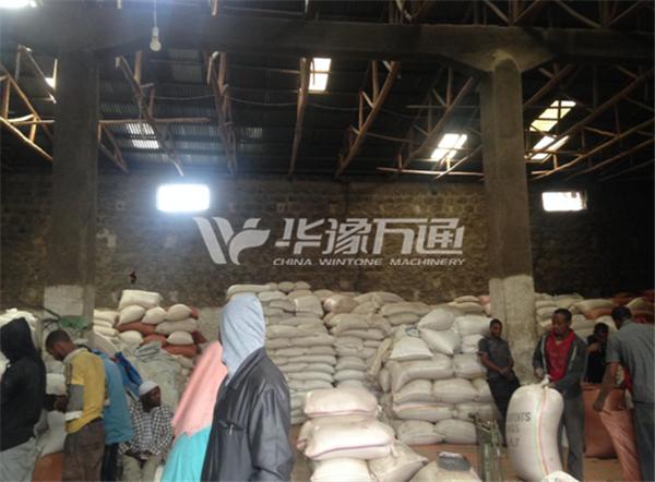 Ethiopia 2TPH Lentil Peeling Line