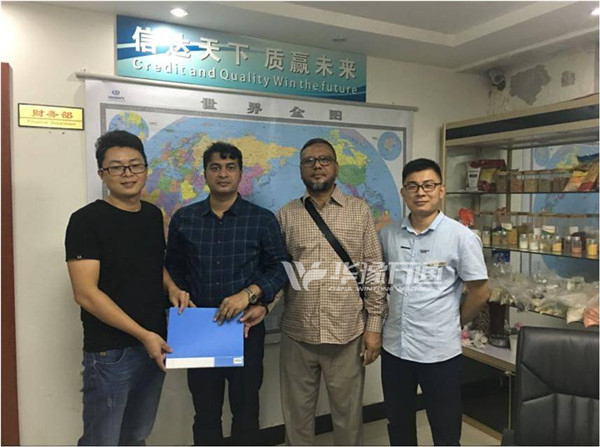 Congratulations on the contract signing about 40TPD Lentil Peeling Plant with the customers from Bangladesh!