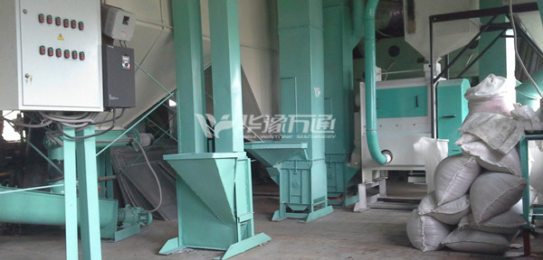 Bean Bran Removing Machines Export Cases bean peeling machine export- Russia.jpg