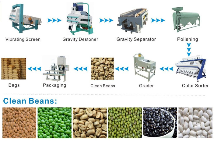 Bean Cleaning Machine