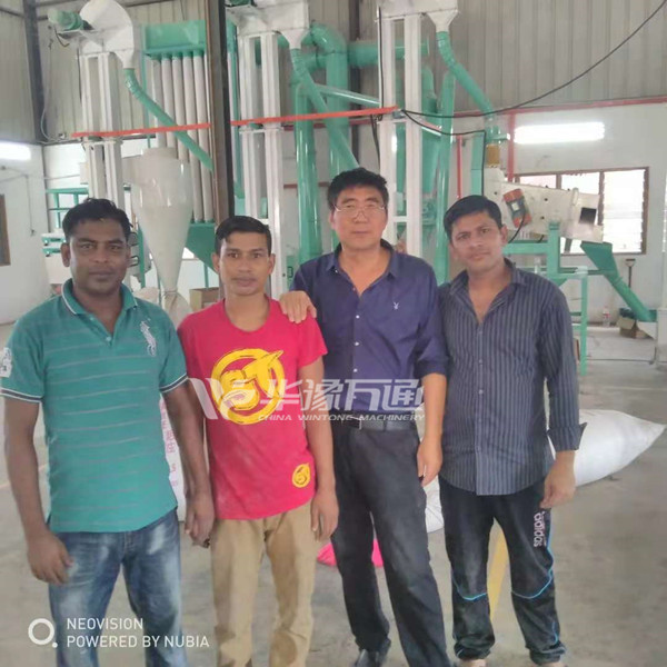 Our 1TPH Lentil Peeling Line has been installed and commissioned successfully in Malaysia.