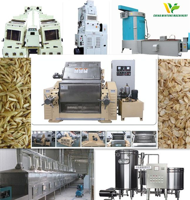 Oats Processing Rolling Line