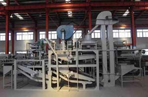 coix seeds dehulling and separating equipment