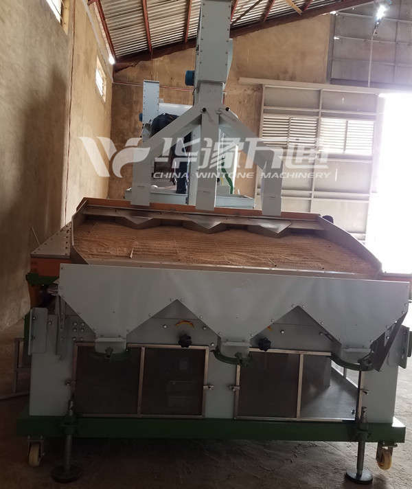 Dry Method Sesame Cleaning Machine